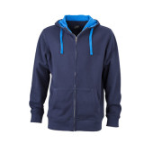 Men's Lifestyle Zip-Hoody - navy/kobalt