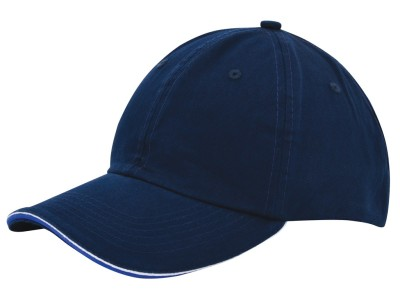 Duo colour sandwich cap