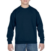 Gildan Sweater Crewneck HeavyBlend for kids Navy XS