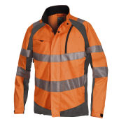6410 SUMMER JACKET HV ORANGE XXL