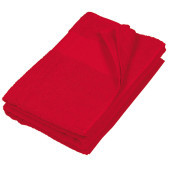 Badhanddoek red one size