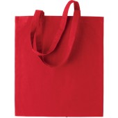 Basic shopper red one size