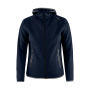 Craft Emotion full zip hood wmn dark navy xs