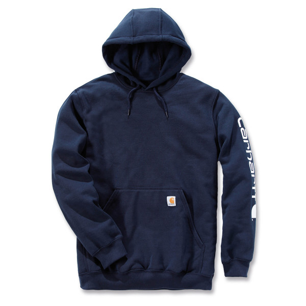 Logo hooded sweatshirt