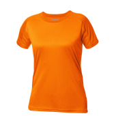 Active-T Ladies T-shirt signaaloranje s