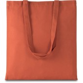 Basic shopper burnt orange one size