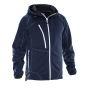5152 Breathable Hood Jacket navy/white l