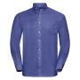 Men L/S Easy Care Oxford Shirt, Aztec Blue, 3XL, RUS