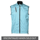 Man Softshell Running Vest