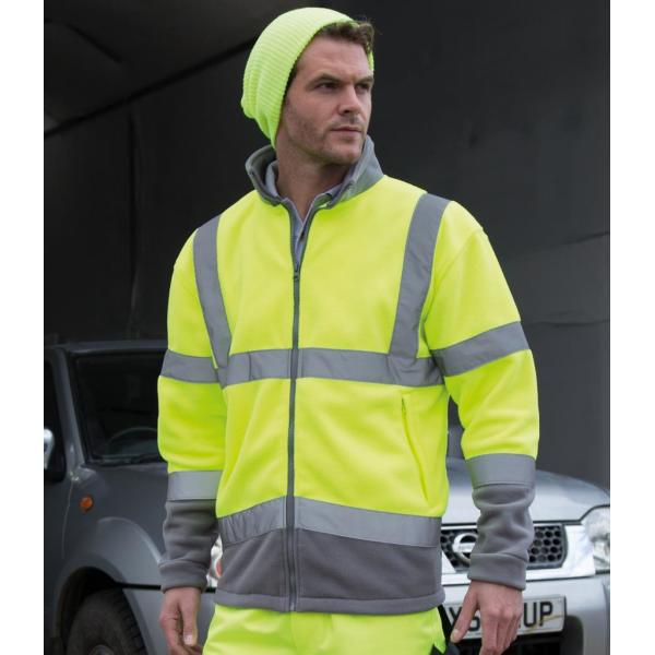 Hi-Vis Micro Fleece Jacket