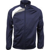 Trainingsjas sporty navy / white / storm grey 4xl