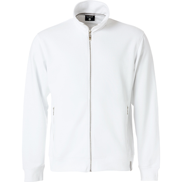 Clique Classic French Terry Sweat Jacket Sweatshirts
