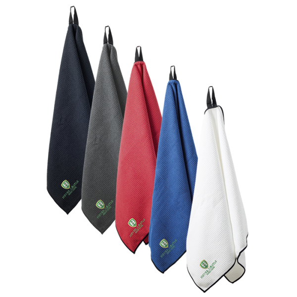 Microfibre Waffle Caddy Golf Towel in 5 different Colors