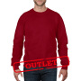Anvil Sweater Crewneck for him Red-35% Korting 3XL