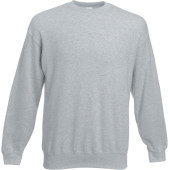 Classic set-in sweat (62-202-0) heather grey 4xl