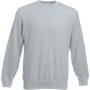 Classic set-in sweat (62-202-0) heather grey 'l