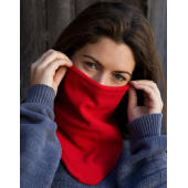 Bandit Face/Neck/Chest Warmer - Red