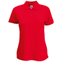 Dames Polo Shirt 65/ 35 - ROJ - S