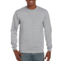 Gildan T-shirt Ultra Cotton LS sports grey M