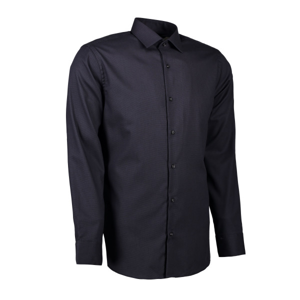 Dobby | Royal Oxford - Long Sleeve Slim Fit