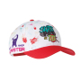 All over printed cap