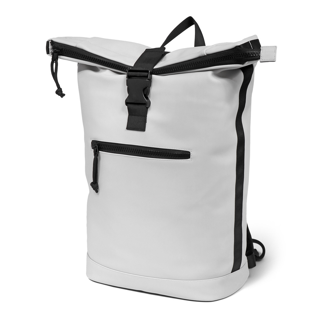 Norländer Dull PU Roll Backpack Grey