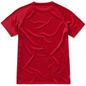 Niagara cool fit heren T-shirt korte mouwen - Rood - XS