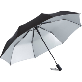 AC mini umbrella FARE®- Doubleface - black/silver