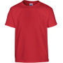 Heavy cotton™classic fit youth t-shirt red '12/14 (xl)