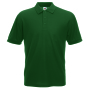 65/35 Pique Polo, Bottle Green, L, FOL