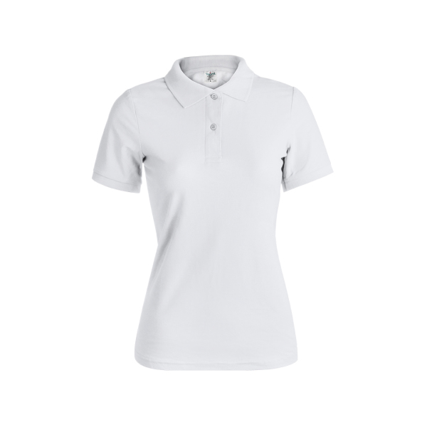 Dames Wit Polo Shirt