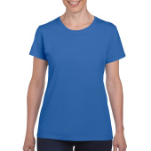 Gildan T-shirt Heavy Cotton SS for her Royal Blue L