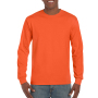 Gildan T-shirt Ultra Cotton LS Orange S