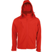 Heren hooded softshell jas