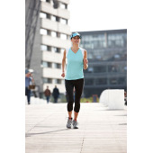 Ladies' Running 3/4 Tights - zwart