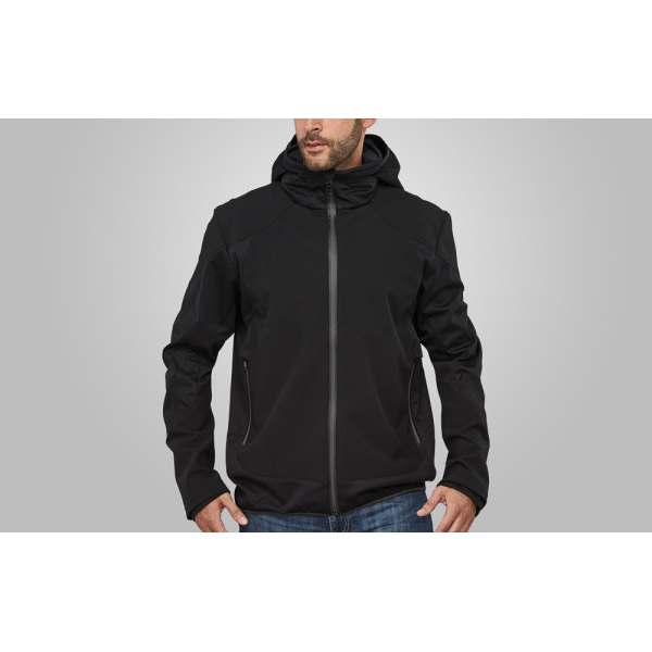 Macseis Jacket Softshell Venture for him Black/GR
