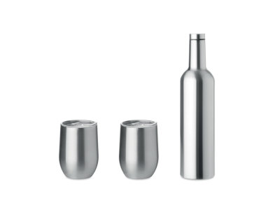 CHIN SET - Double walled bottle & mug set