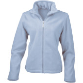 Womens micro fleece jacket iris blue xl (16 uk)