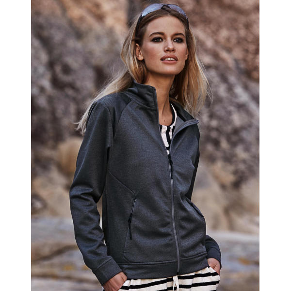 Ladies Performance Zip Sweat
