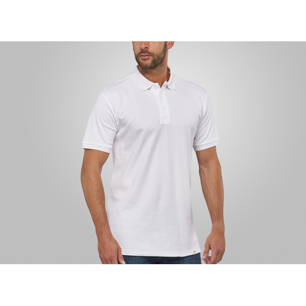 Macseis Polo Flash Powerdry for him White