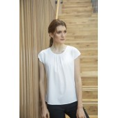 Ladies pleat front blouse