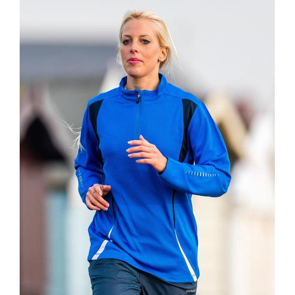 Unisex Zip Neck Trial Training Top