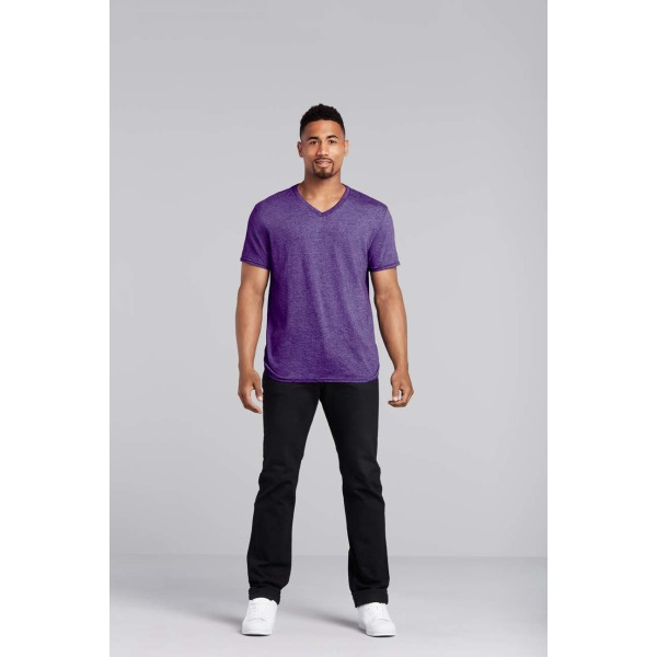 Gildan T-shirt V-Neck SoftStyle SS for him