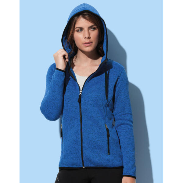 Knit Fleece Jacket Women