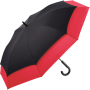 AC golf umbrella FARE®-Stretch 360 - black-red