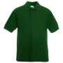 Kids 65/35 Polo, Bottle Green, 14-15jr, FOL