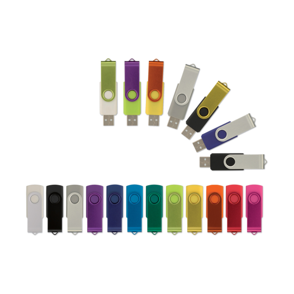 Bedrukte USB stick 2.0 Twister 4GB