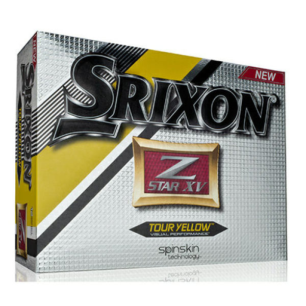 Srixon Zstar XV 4 piece Yellow