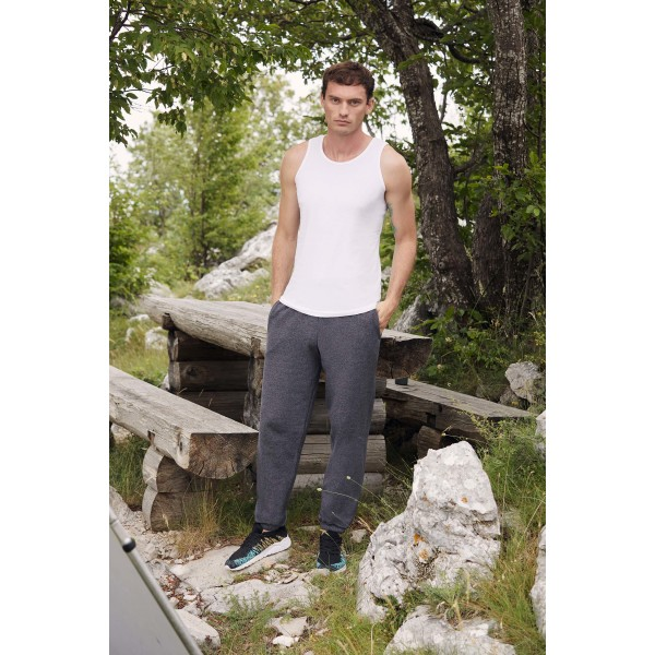 Classic elasticated cuff jog pants (64-026-0)