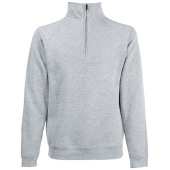Premium zip neck sweat (62-032-0)